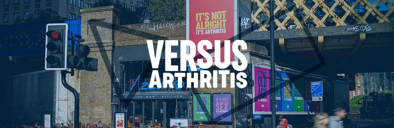 Versus Arthritis outdoor campaign - Global