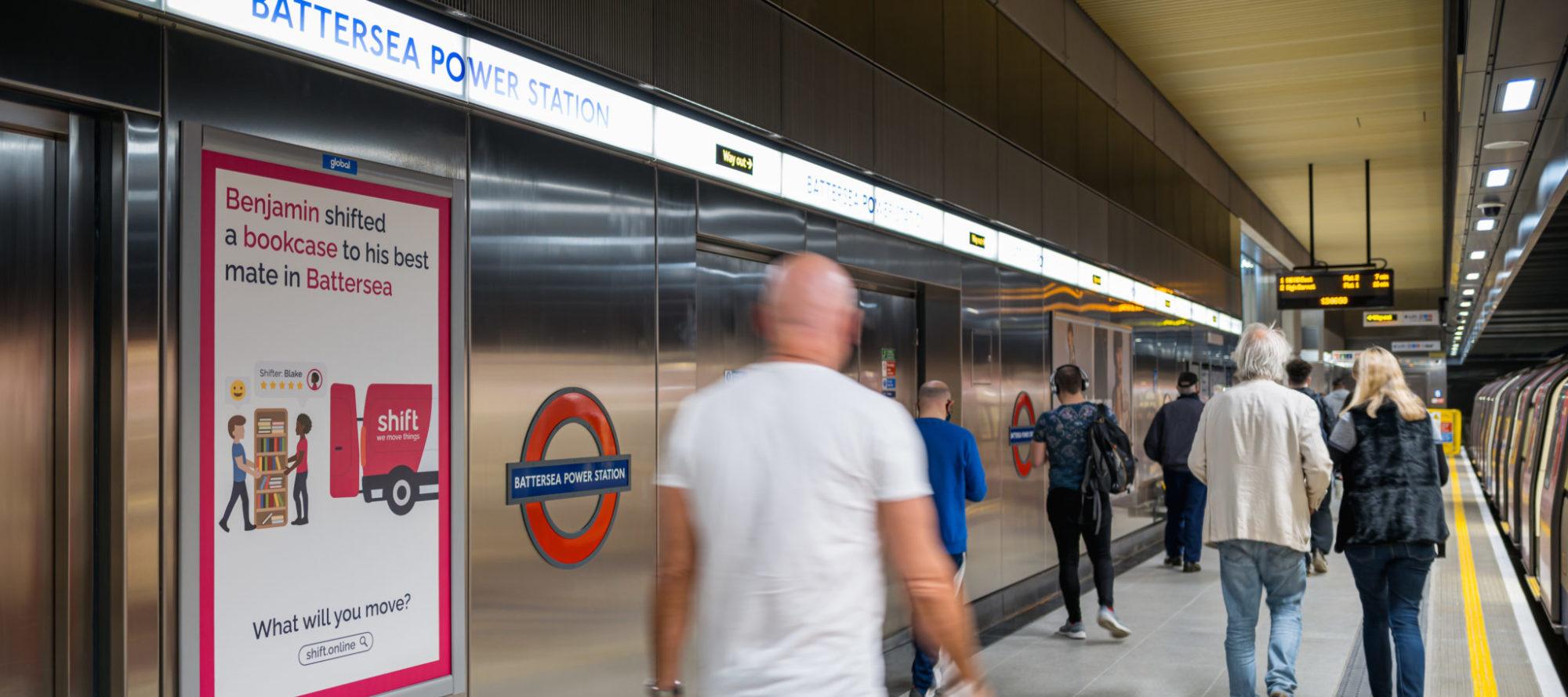 2021, Battersea Power Station, London, London Underground, Rail - Global